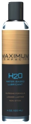 Maximum Impact Waterbased Lubricant – 4 oz.