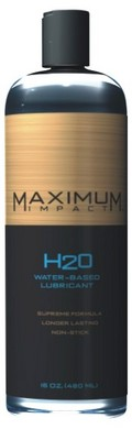 Maximum Impact Waterbased Lubricant – 8 oz.