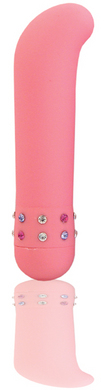 Velvet-Mini G-spot Vibrator with Smooth Satin Finish – Pink
