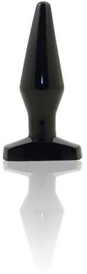 Natural Feel Intermediate Sized Anal Plug-black