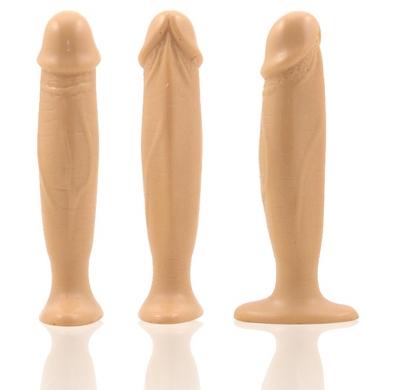 Natural Feel 5.5 Inch Cock Plug-beige