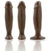 Natural Feel 5.5 Inch Cock Plug-brown