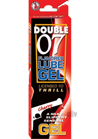 Double 07 Flavored Lube  gel – Cherry