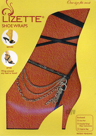 Shoe Wrap Chain – Black