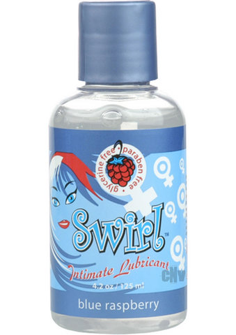 Sliquid Swirl Blue Raspberry 4.2oz