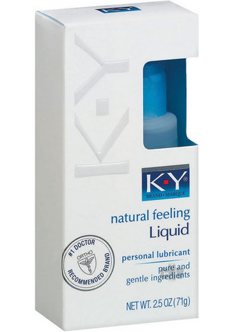 Ky Natural Feeling Liquid 2.5oz