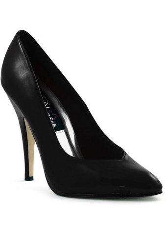 Seduce 5 Black Heel Pump 6