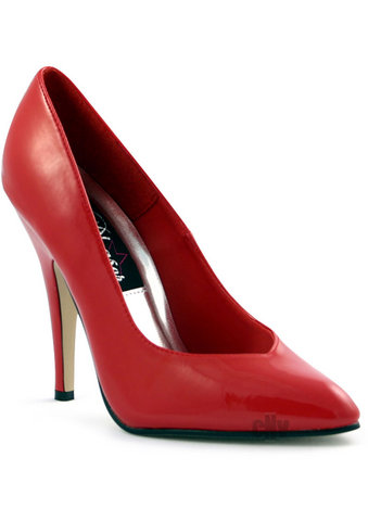 Seduce 5 Red Heel Pump 8