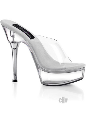 Allure 5.5 Clear Heel Stiletto 9