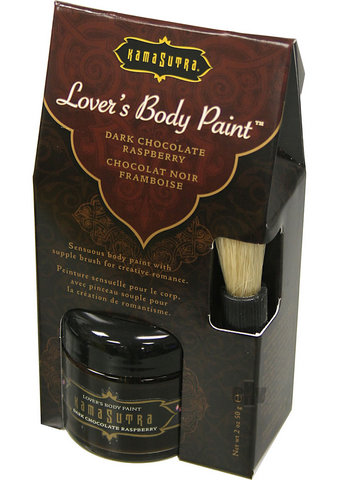 Lovers Body Paint Choc Raspberry