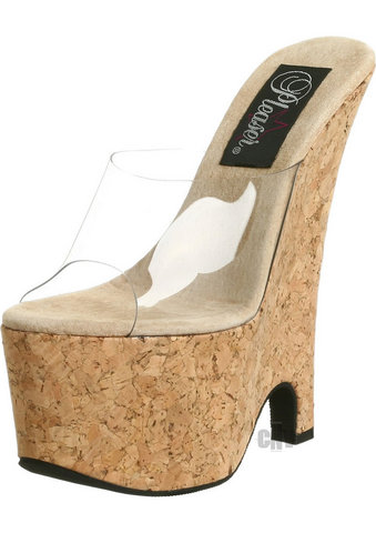 Beau 601 6.5 Cork Wedge 7