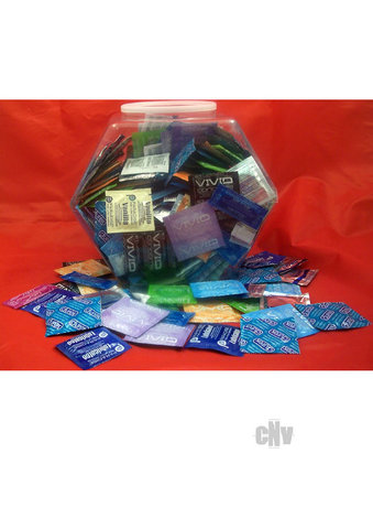 Lover Cover Mixed Condoms 144/bowl