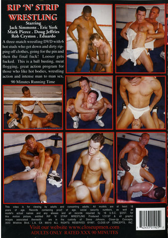 Rip And Strip Wrestling~ Video and DVD, X-Rated & Adults only on sale at ...