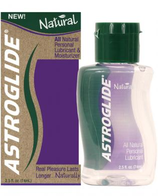 Astroglide natural lubricant – 2.5 oz bottle