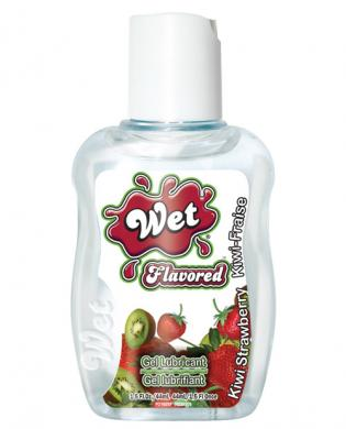 Wet clear flavored body glide travel size – 1.5 oz strawberry