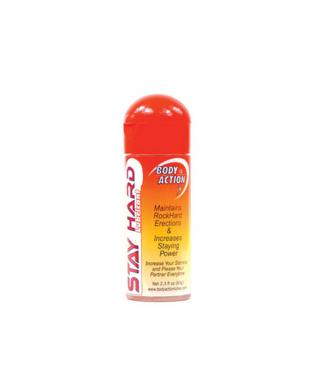 Body action stayhard lubricant – 2.3 oz
