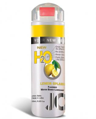 System jo h2o flavored lubricant – 5.25 oz lemon splash