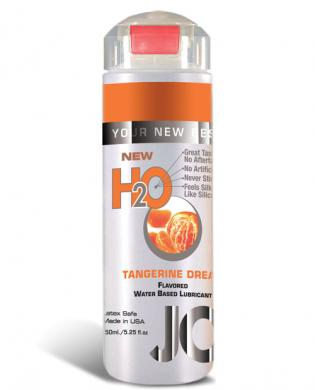 System jo h2o flavored lubricant – 5.25 oz tangerine dream