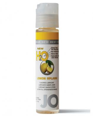 System jo h2o flavored lubricant – 1 oz lemon splash