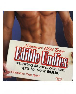 Mens edible undies passion fruit