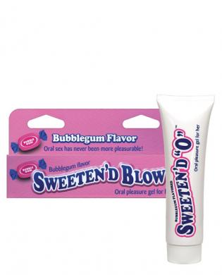 Sweeten'd blow, bubble gum