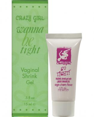Crazy girl shrink gel with libido enhancers – .5 oz