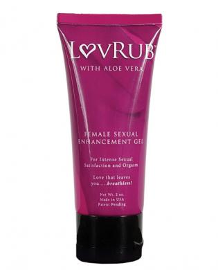 Lovrub for women enhancement gel – 2 oz tube