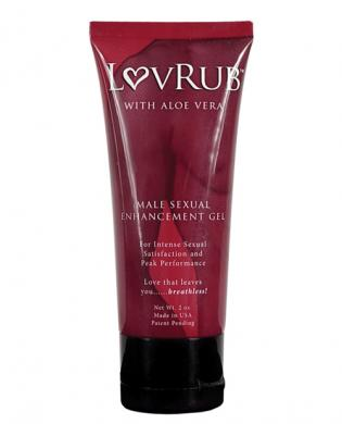 Lovrub for men enhancement gel – 2 oz tube