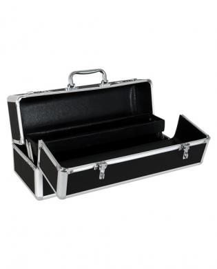 Large lockable vibrator case – black