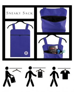 Holistic sneaky sack – blue