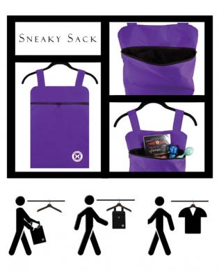 Holistic sneaky sack – purple