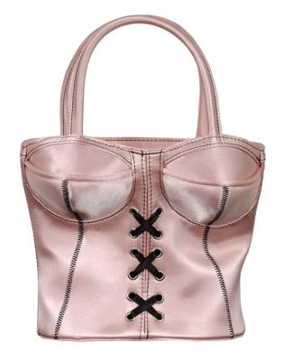 Corsette storage bag – pink (empty)