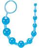 Blush sassy anal beads - blue