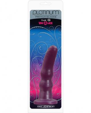 Platinum silicone vac-u-lock the g dong – purple