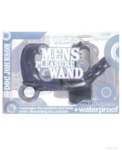 Men's pleasure wand, charcoal waterproof