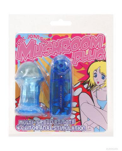 Mushroom plug, blue