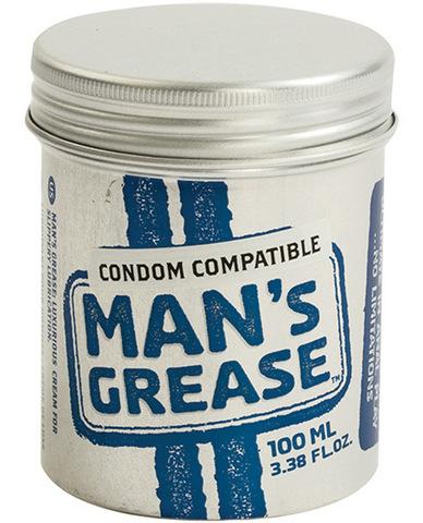 Man's grease waterbased lube - 100 ml jar