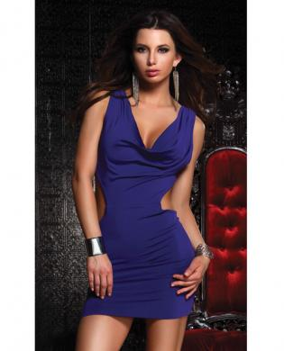 Sexy Open Back Tantalize Dress Blue Md - listed on BlueDorm Free Romance Classified Ads - Clothes, Jewelry, Shoes, Watches (shopping)