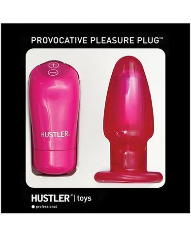 Hustler provocative pleasure plug - pink