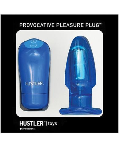 Hustler provocative pleasure plug - blue