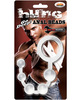 Hung - man tools anal beads - clear