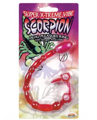 Scorpion dual pleasure ring w/ stinger anal vibe