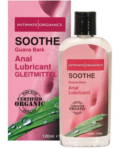 Soothe organic anti-bacterial anal lubricant - 4 oz