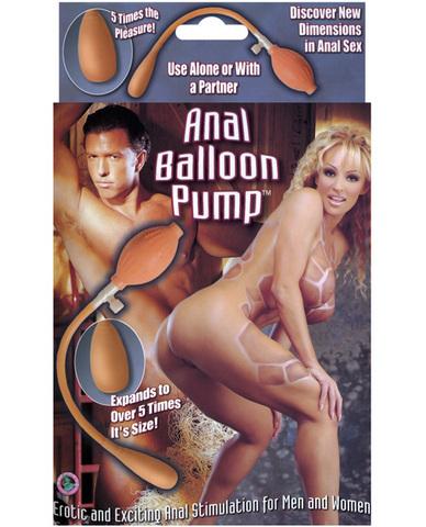 Anal balloon pump
