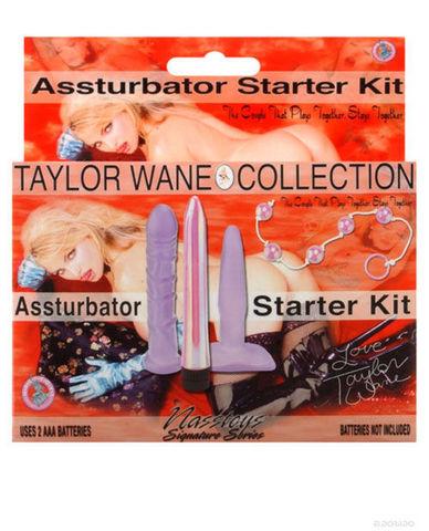 Taylor wane assturbator kit - lavender