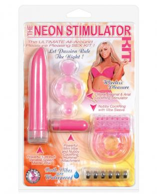 The neon stimulator kit – pink