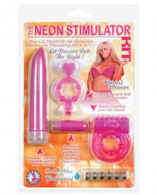 The neon stimulator kit – fuchsia