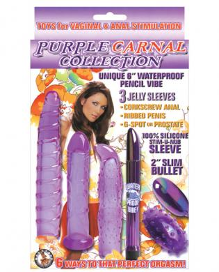 Purple carnal collection