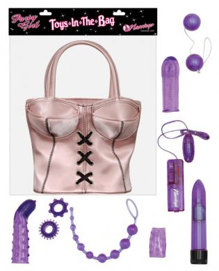 Party girl toys in the bag – pink