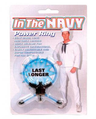 In the navy power ring – blue